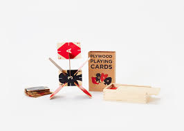 Plywood by Plywood Playing Cards U2013 Areaware