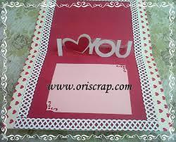 cara membuat kartu ucapan i love you kartu popup 3d blog oriscrap