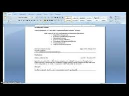 Making A Resume With No Job Experience by How To Write A Resume With Little Or No Job Experience Youtube