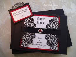 guest book with black pages 262 best quills wedding stationery images on quill
