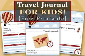 printable vacation journal pages southern mom loves travel journal for kids free printable