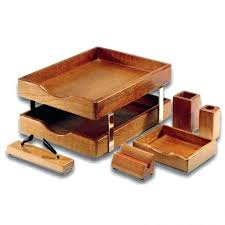 Wood Desk Accessories And Organizers Desk Wooden Desk Accessories Nz Wooden Office Accessories Uk