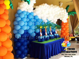 party supplies miami theme party decorations creative party ideas