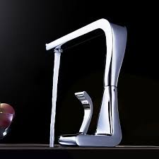 Designer Kitchen Tap Contemporary Solid Brass Kitchen Tap Chrome Finish N2096 180