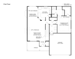 Pulte Home Floor Plans Oakhurst New Home Plan Lewis Center Oh Pulte Homes New Home