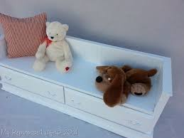 child u0027s bench from old dresser drawers