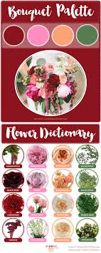 wedding flowers guide burgundy blush wedding flower recipe with flower dictionary
