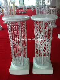 Pillars And Columns For Decorating Illumilated Led Wedding Roman Pillar Columns Mandap For Sale
