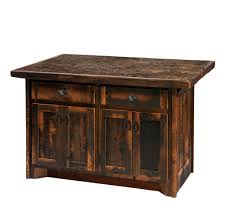 Reclaimed Kitchen Islands by Barnwood Kitchen Island Lodge Craft