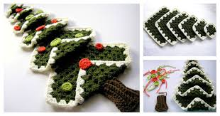 crocheted christmas diy crocheted christmas tree with free pattern