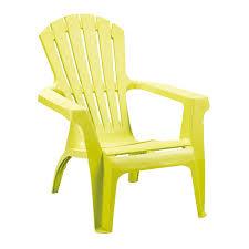 siege jardin ozalide fauteuil de jardin adirondack vert anis fauteuil de