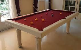 pool table converts to dining table contemporary pool table convertible dining table white powder