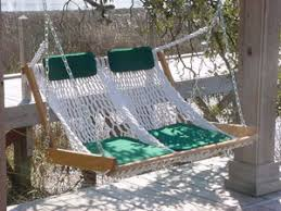 double porch swing outer banks hammocks
