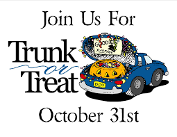 calling all trunks u2026 pre register your vehicle for trunk or treat