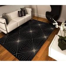34 best black area rugs images on area rugs black rug