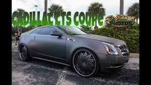 cadillac cts coupe rims matte grey cadillac cts coupe on dub wheels in hd must see