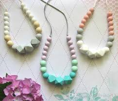baby beads necklace images 2018 silicone teething necklace mum beads silicone pendant jpg