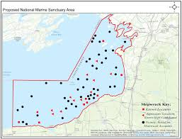 Map Of Great Lakes More Marine Sanctuaries Coming To Great Lakes Wbfo