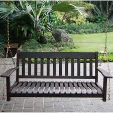better homes and gardens delahey outdoor porch swing seats 2
