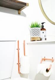 a kailo chic life diy it copper toilet paper holders