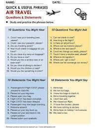 travel phrases images Air travel phrases materials for learning english jpg