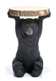 black bear coffee table bear coffee table creative of bear coffee table brown bear black
