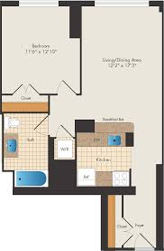 floor plans 15 bank apartments apartments the bozzuto group