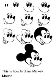 Mickey Meme - 25 best memes about how to draw mickey mouse how to draw