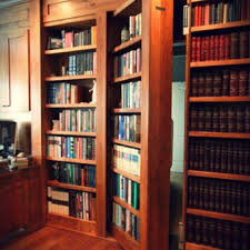 home library bookcases hidden door store