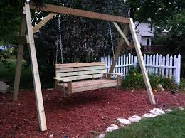 outdoor bench swing bench decoration