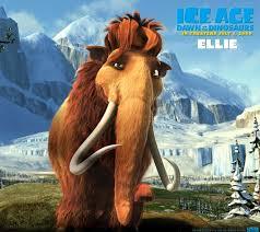 3d animals elephant iceage 5