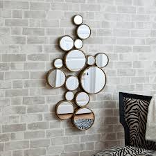 funky mirrors for living room home design
