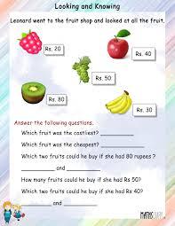 mental maths u2013 grade 1 math worksheets page 4