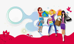 s day shopping women s day promotional elements women s day promotional