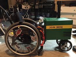 john deere tractor wheelchair halloween costume life is a bowl