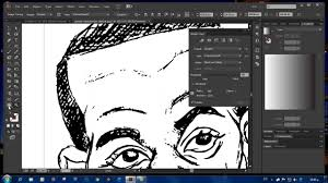 converting your drawing sketch into a vector using trace in