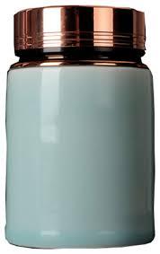 unusual tea coffee sugar ceramic jars with metal lids perfect