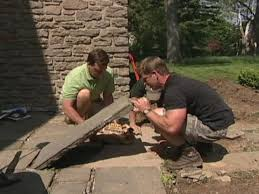 building a stone walkway how tos diy