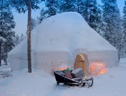 igloo lapland igloo fantasia only when you book with santa u0027s lapland