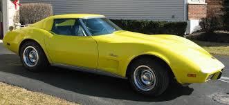 1976 corvette yellow chevrolet corvette stingray t top chevrolet
