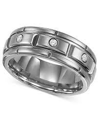 titanium diamonds rings images Triton men 39 s titanium ring three diamond wedding band 1 10 ct tif