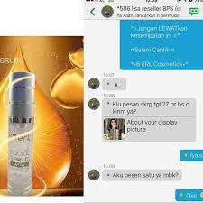 Serum Erl b erl wow lightening serum daftar update harga terbaru indonesia