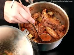 cuisine gibier fond de gibier notre recette illustrée meilleurduchef com