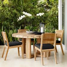 The Circular Dining Room by Larnaca Outdoor Round Dining Table Williams Sonoma