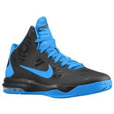 Nike Basketball Shoes nike air max hyperaggressor s basketball shoes black photo blue