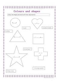 113 free esl shapes worksheets