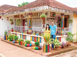 home decor ideas with waste krokotak recycled outdoor decorations of decoration from waste