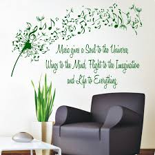 wall beautiful dandelion wall decal to bring your room feel fresh