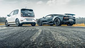 chiron vs the vw up gti
