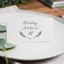 printable name place cards 25 best printable wedding place cards ideas on diy